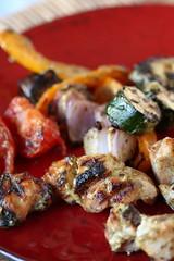 De-skewered Dijon-Dill kebabs