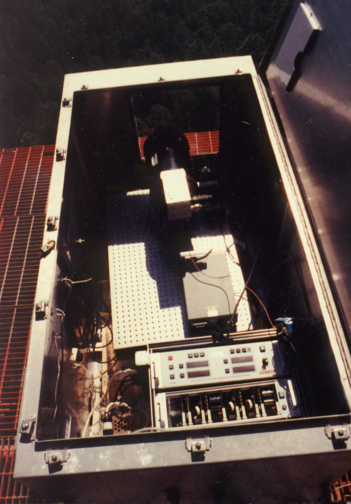 View Inside Transmitter Equipment Box On Palmetto Tower 88