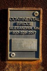 Bridge plaque (hithro) Tags: plaque d50 de nikon rust type wilmington 50mmf18af