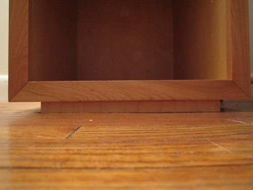 Floor shim - view 1