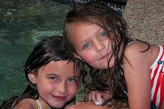 Swimming Friends 4979 (casch52) Tags: county girls friends portrait 20d wet water pool girl swimming swim canon fun photo drops backyard buddies photograph kiki kayla kiara placer placercounty roseville rocklin aplusphoto explorer427 familygetty gettyvacation2010