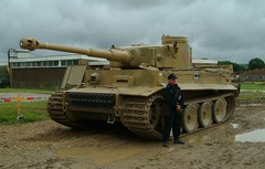 Tiger 1 tank and commander (rikdom) Tags: army tank military armor panzer 2007 bovington