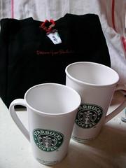Starbucks's Mug & bag by Taiwan