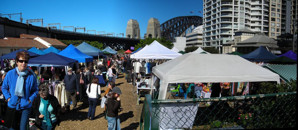 Kirribilli markets pano