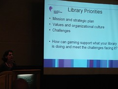 Julie Scordato talks about implementing gaming at Columbus Public Library