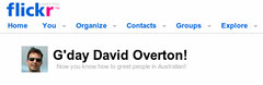 Screenshot (David Overton) Tags: flickr australia gday strine