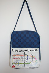London Underground Map Bag