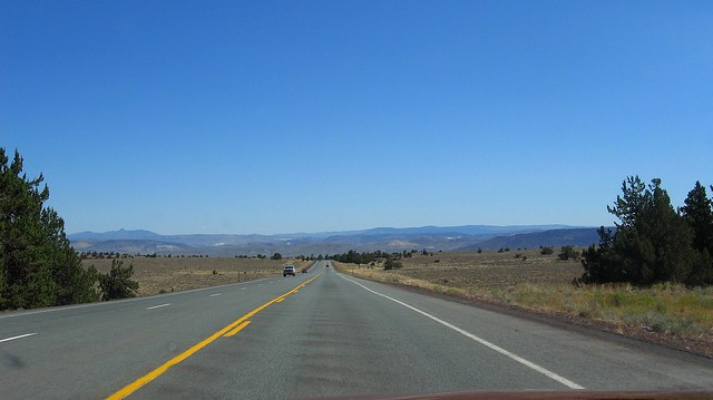 Oregon Desert Highway us20