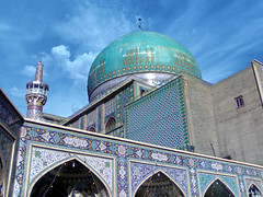 "Goharshad Mosque  ""+1000 views"" (Mostafa saghari) Tags: old city persian iran mosque pars mashhad khorasan  mashad ghajar goharshad   iraniandomeandminaret"