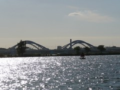 Bikinibridge (TienBien) Tags: bridge amsterdam ijsselmeer ijburg bikinibridge bridgeonthewestsideofijburg
