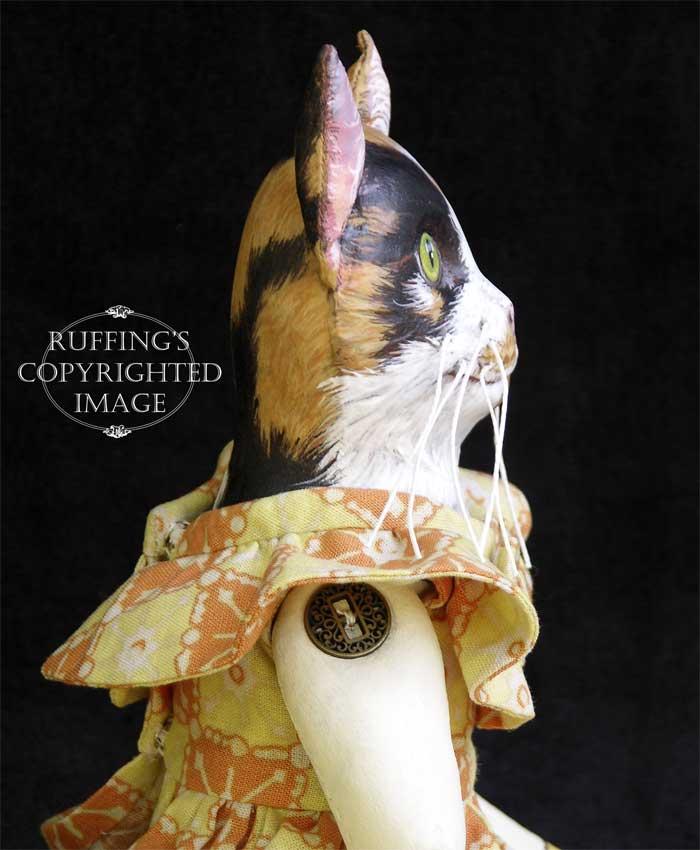 Hedda and Hopper, Original One-of-a-kind Folk Art Dolls by Max Bailey