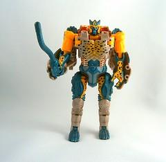 Transformers Cheetor Transmetal - modo robot (Beast Wars)