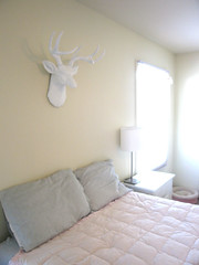 Deer Head (Katey Nicosia) Tags: house home bed bedroom room deer deerhead