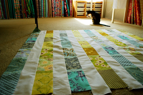 Quilting along (quilt #2)