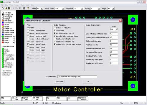 FreePCB+CopperCam to produce G code 4724715468_8b0a719d3b