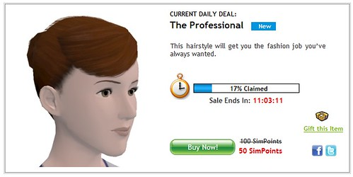 News - 6/23/10 – Sims 3 Store Daily Deals – 'The Professional