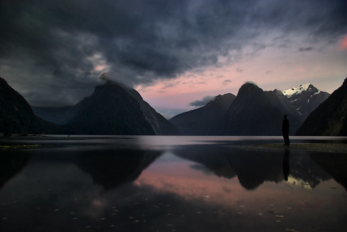Reflecting in Milford Sound by Tannachy - www.tannachyphotography.co.uk