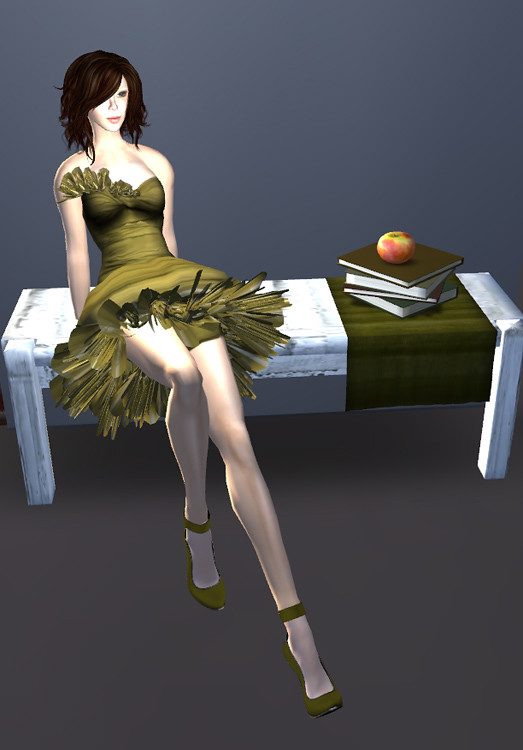 Baiastice @ The Dressing Room, Sea Hole Subscribo Skin, 25 Linden  Pumps