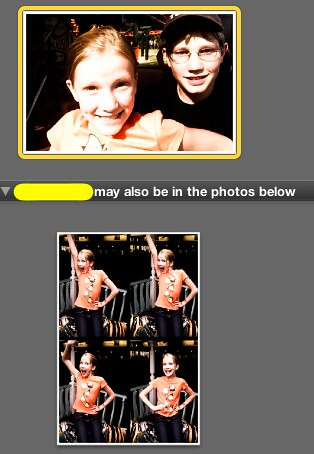 iPhoto - Facial Recognition