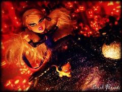 BNTM C2 Ep. 2 - Halloween - Allison, the Black Cat (Carol Parvati ) Tags: halloween cat blackcat dark allison jackolantern contest kittens picnik peyton bratz nevaeh cloe twiins bntm passion4fashion p4f bndm carolparvati