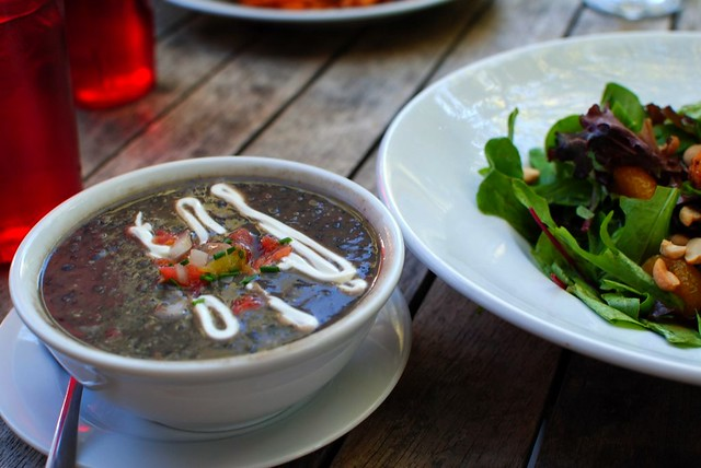 The Best Black Bean Soup In The World.