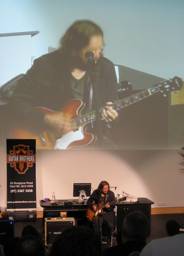 Robben Ford in masterclass action
