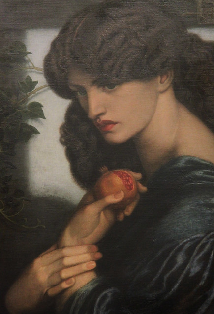 Part of Proserpine, Dante Gabriel Rossetti, 1874