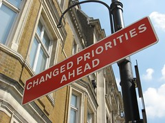 Changed Priorities Ahead by Redvers on Flickr!