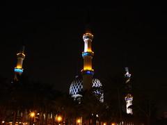 The Blue Mosque -Shah Alam (Ibnu Yusuf) Tags: blue light night muslim islam mosque malaysia shahalam ibnuyusuf