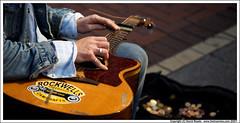 Guitarist, Grafton Street (C) 2007