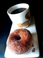 cinnamon vanilla sugar honey brioche doughnut (chotda) Tags: food breakfast bread sweet sugar donut doughnut carbs brioche buttery mountainmountain