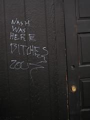 6/14/07 Manium (sixheadedgoblin) Tags: washington olympia scrawl publicart olympiawashington manium 4thjefferson