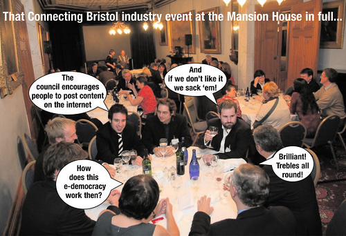 Connecting Bristo Mansion House event
