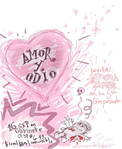 amor y odio. amor y odio. Fiesta el dia del amor y la amistad