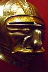 close Helmet with mask Visor Steel etched gilt Atrributed to Kolman Helmschmid German (Augsburg) about 1515 CE - by mharrsch