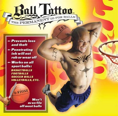 Ball Tattoo