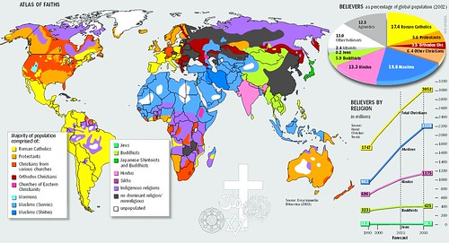 World Map of Religions