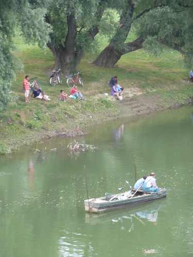 Fishermen in Gyor