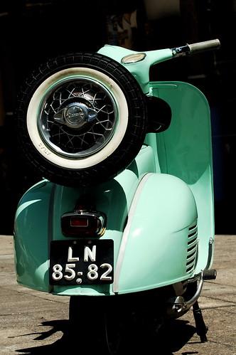green portugal vespa scooter viseu flickrduel