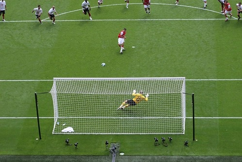 After - Van Persie's penalty against Fulham