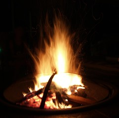 fire pit (JAMES HALLROBINSON) Tags: fire flames leaping