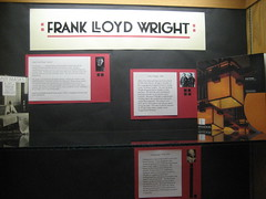 Frank Lloyd Wright exhibit