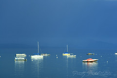 Storm Overhead (Pretty Petal Studio) Tags: lake storm boats tahoe instantfave superbmasterpiece