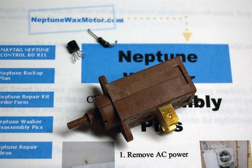 Neptune Wax Motor