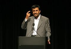 Mahmoud Ahmadinejad 1 (Daniella Zalcman) Tags: cu iran protest columbia un gothamist columbiauniversity ahmadinejad wlf mahmoudahmadinejad presidentofiran worldleadersforum hiremeround1