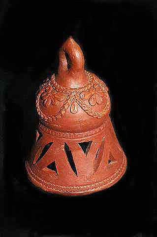 Terracotta Hanging Bell,Clay Handicraft