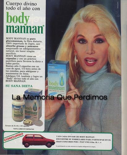 body mannan 1992
