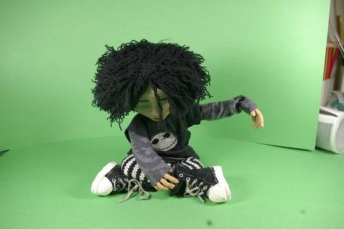 Clara - stop motion puppet