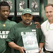 Greg Jones with Dad and Dantonio