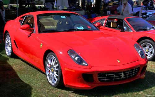 Ferrari 599 Gtb Fiorano Coupe. 2009 Ferrari 599 GTB Fiorano Coupe - red - fvr